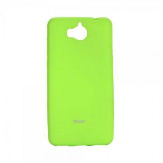 Husa Spate Roar Jelly Case Huawei Y6 2017 Verde