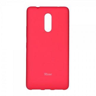 Husa Spate Roar Jelly Case Lenovo K6 Note Roz Mat