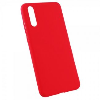 Husa Flash Jelly Pentru Spate Din Silicon Ultra Slim Huawei P20 Red
