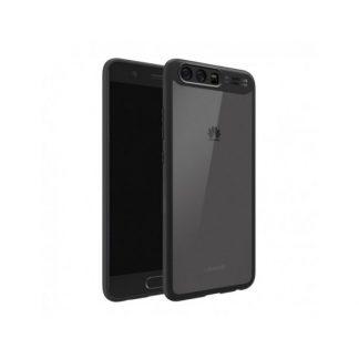 Husa Spate Usams Mant Huawei P10 Negru Transparent