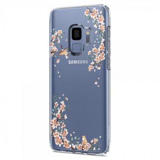 Husa Spigen Liquid Crystal Samsung S9 Blossom Nature Transparenta