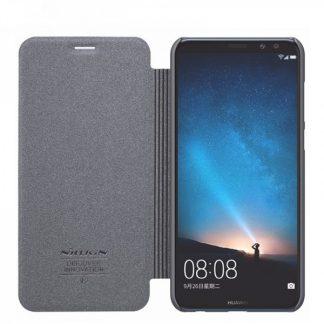 Husa Tip Carte Flip Sparkle Nillkin Huawei Mate 10 Lite Gri