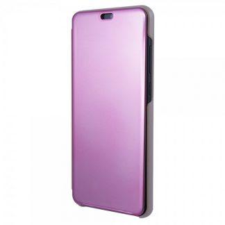 Husa Tip Carte S View Mirror Huawei P20 Rose