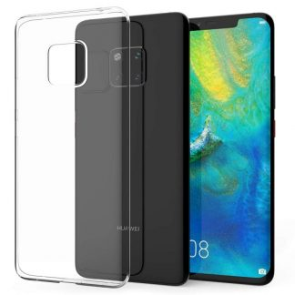 Husa Ultra Slim Mixon Slim Fit Huawei Mate 20 Pro Transparenta 0.5mm Grosime Silicon