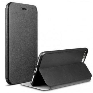 Husa X-level Fib iPhone X ,iphone 10 Flip Cover Negru