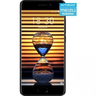 Telefon Mobil Meizu Pro 7, Procesor Octa-Core 1.6GHz, AMOLED Capacitive touchscreen 5.2inch, 4GB RAM, 64GB Flash, Camera Duala 12MP, 4G, WI-FI, FlymeOS Bazat pe Android (Negru)