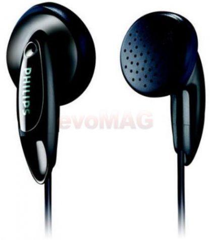 Casti Philips SHE1350 (Negru)