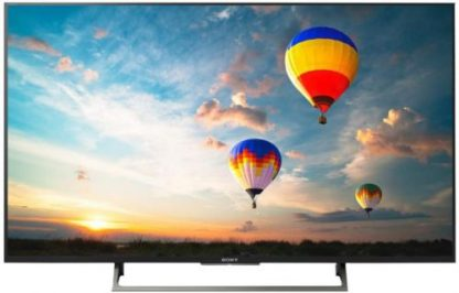 Televizor LED Sony 139 cm (55inch) KD-55XE8096BAEP, Ultra HD 4K, Smart TV, WiFi, Android TV, CI+