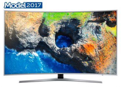 Televizor LED Samsung 125 cm (49inch) UE49MU6502, Ultra HD 4K, Smart TV, Ecran Curbat, WiFi, CI+