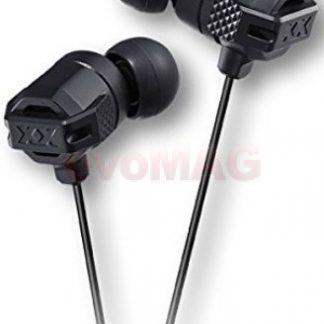 Casti Stereo JVC HA-FR202-B Xtreme Xplosives, Jack 3.5mm, Microfon (Negru)