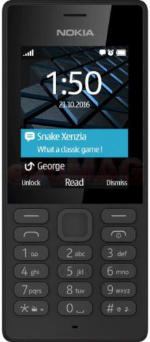 Telefon Mobil Nokia 150, Dual SIM (Negru)