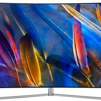 Televizor QLED Samsung 165 cm (65inch) QE65Q7CAM, Ultra HD 4K, Smart TV, Ecran Curbat, WiFi, CI+