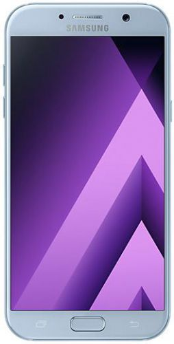 Telefon Mobil Samsung Galaxy A7 (2017), Procesor Octa-Core 1.9GHz, Super AMOLED Capacitive touchscreen 5.7inch, 3GB RAM, 32GB Flash, 16MP, 4G, Wi-Fi, Dual Sim, Android (Albastru)