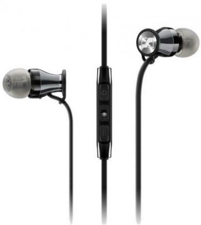 Casti Stereo Sennheiser Momentum In-Ear G (Negru)