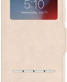 Husa Flip Cover Moshi 99MO072111 pentru Apple iPhone XR (Bej)