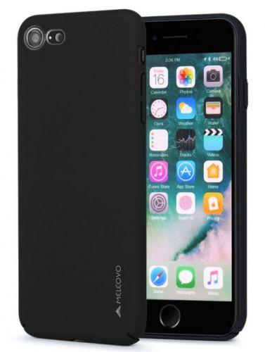 Protectie Spate Meleovo Metallic Slim 360 MLVMSIPH8BK, pentru iPhone 8/7 (Negru)