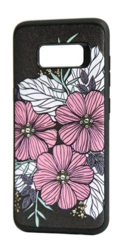 Protectie Spate Occa Artist 3D Print Flower Bloom OCAARTG950FLB, pentru Samsung Galaxy S8 G950 (Multicolor)