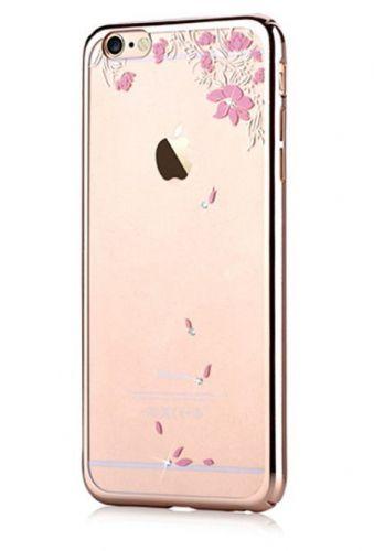 Protectie Spate Devia Crystal Vivid DVVVDIPH6CG, pentru iPhone 6 (Auriu)