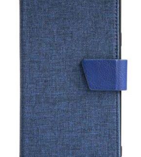 Protectie Book cover Just Must Linen JMLNG955NV, pentru Samsung Galaxy S8 Plus G955 (Albastru)