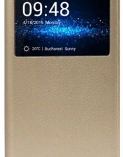Husa S-View Cover Allview HFgX3SOULPLUS pentru X3 Soul Plus (Auriu)
