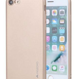 Protectie Spate Meleovo Soft Slim MLVSSIPH8GD pentru iPhone 8/7 (Auriu)