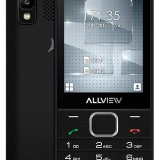 Telefon mobil Allview M10 Luna, Ecran TFT 2.8inch, 1.3MP, Bluetooth, Dual Sim (Negru)