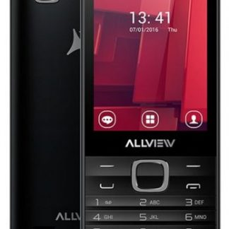 Telefon mobil Allview H4 Join, Procesor Dual-core 1.7GHz, Ecran TFT 2.8inch, 3.2MP, 256MB RAM, 512MB FLASH, Bluetooth, 3G, WiFi, Dual Sim (Negru)