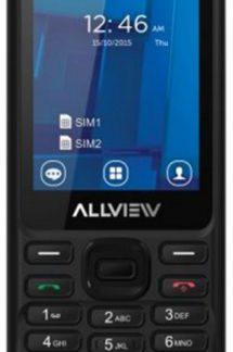 Telefon Mobil Allview M9 Join, TFT 2.4inch, Bluetooth, 3G, Dual Sim (Negru)