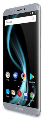 Smartphone Allview X4 Soul Infinity N, Procesor Octa-core, 1.5GHz, IPS LCD Capacitive touchscreen 5.7inch, 4GB RAM, 32GB FLASH, Camera 16MP, Wi-Fi, 4G, Dual Sim, Android (Gri)
