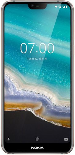 Telefon Mobil Nokia 7.1, Procesor Octa-Core 1.6GHz/1.8GHz, IPS LCD Capacitive touchscreen 6inch, 4GB RAM, 64GB Flash, Camera Duala 12+5MP, 4G, WI-FI, Dual Sim, Android (Argintiu)