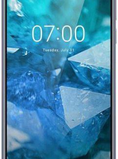 Telefon Mobil Nokia 7.1, Procesor Octa-Core 1.6GHz/1.8GHz, IPS LCD Capacitive touchscreen 6inch, 4GB RAM, 64GB Flash, Camera Duala 12+5MP, 4G, WI-FI, Dual Sim, Android (Albastru)