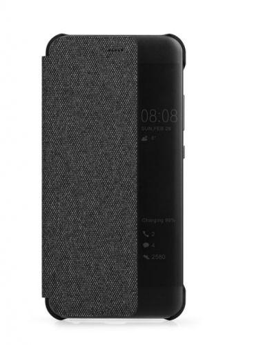 Protectie Book Cover Meleovo Smart View MLVSVP10PBK pentru Huawei P10 Plus (Negru)