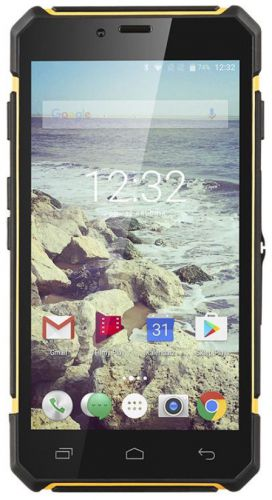 Telefon Mobil Kruger&Matz Drive 5, Procesor Octa-Core 1.4 GHz, IPS Capacitive Touchscreen 5inch, 2GB RAM, 16GB Flash, 13 MP, 4G, Wi-Fi, Dual Sim, Android (Negru)