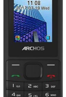 Telefon Mobil Archos Access18, TFT 1.8inch, 0.08MP, 2G, Dual Sim (Negru)