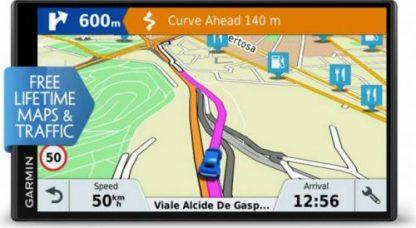 Sistem de navigatie DriveSmart 61 LMT-D EU, WQVGA TFT Capacitive Touchscreen 6.95inch, Harta Full Europa, Actualizari pe Viata a Hartilor