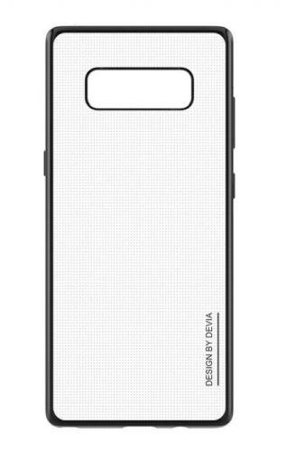 Protectie Spate Devia Glitter Soft DVGLTSFN950GB pentru Samsung Galaxy Note 8 (Negru)