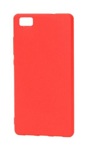 Protectie Spate Just Must Candy JMSILCNDP8LRD pentru Huawei Ascend P8 Lite (Rosu)