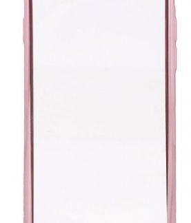 Protectie Spate Devia Glitter Soft DVGLTSFIPH7RG pentru iPhone 8/7 (Transparent / Roz/Auriu)
