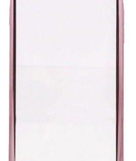 Protectie Spate Devia Glitter Soft DVGLTSFIPH7PRG pentru iPhone 8 Plus / 7 Plus (Transparent / Roz/Auriu)