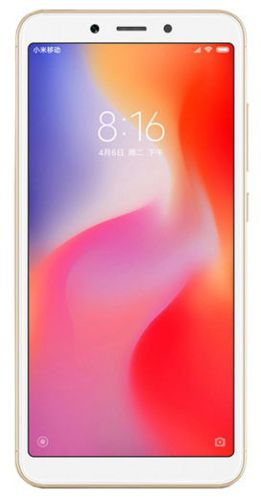 Telefon Mobil Xiaomi Redmi 6, Procesor Octa-Core 2GHz, IPS LCD capacitive touchscreen 5.45inch, 3GB RAM, 64GB Flash, Camera Duala 12+5MP, Wi-Fi, 4G, Dual Sim, Android (Auriu)