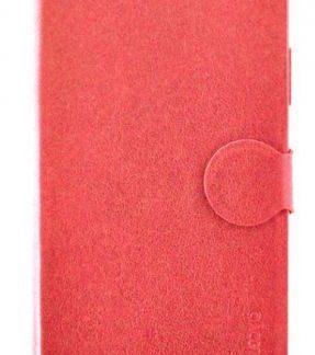 Protectie Book Cover Meleovo Classic Flip I MLVCF1IPHXRD pentru iPhone X (Rosu)