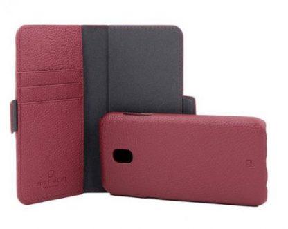 Protectie Book Cover Just Must Car Wallet JMCWJ530RD pentru Samsung Galaxy J5 2017 (Rosu)