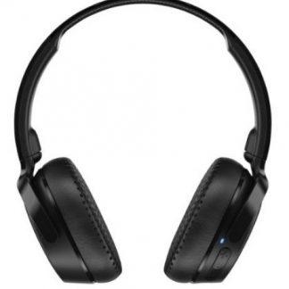 Casti Wireless SkullCandy Riff S5PXW-L003, Microfon (Negru)