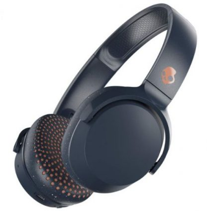 Casti Wireless SkullCandy Riff S5PXW-L673, Microfon (Albastru)