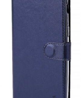 Protectie Book Cover Lemontti Metalic LMBMA320NV pentru Samsung Galaxy A3 2017 (Albastru)