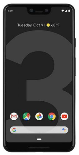 Telefon Mobil Google Pixel 3 XL, Procesor Snapdragon 845, Octa-Core 2.5GHz / 1.6GHz, P-OLED Capacitive touchscreen 6.3inch, 4GB RAM, 64GB Flash, 12.2MP, Wi-Fi, 4G, Android (Negru)