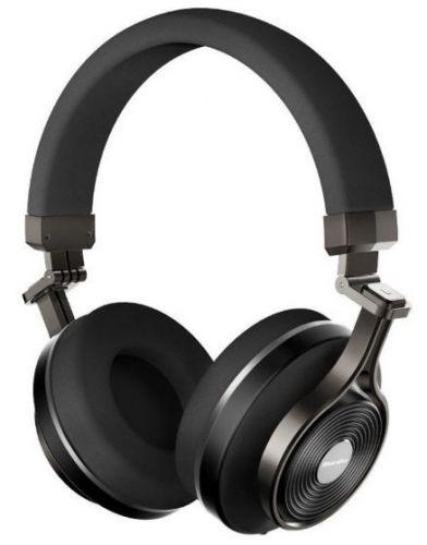Casti Stereo Bluedio T3+, Bluetooth (Negru)