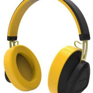 Casti Stereo Bluedio TM, Bluetooth (Negru/Galben)