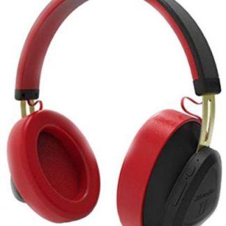 Casti Stereo Bluedio TM, Bluetooth (Negru/Rosu)