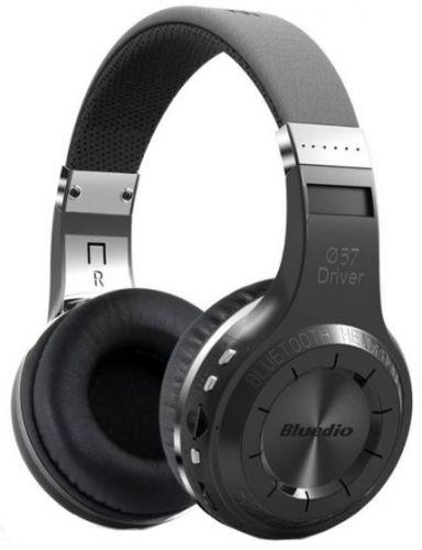 Casti Stereo Bluedio H+, Bluetooth (Negru)